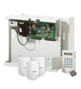 An image of a Honeywell Alarms system