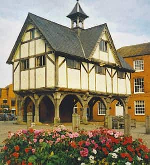 An image of Market Harborough, a location that Wilson Alarm Systems provide security systems to.