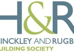 An image of the Hinckley and Rugby Building Society logo