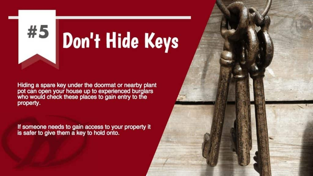Don't Hide Keys