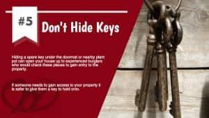 Don't Hide Keys